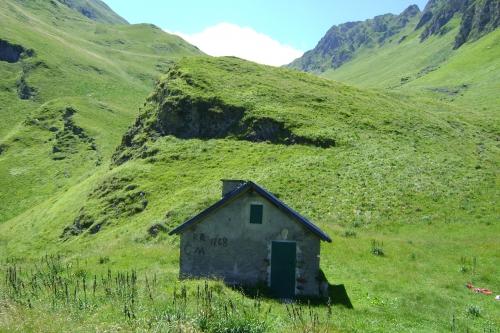 des cabanes de bergers