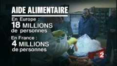 l'aide alimentaire europeénne bloquée